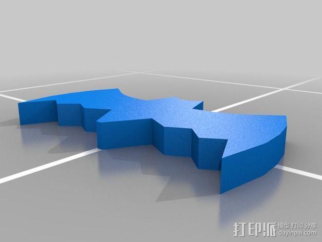经典蝙蝠车 3D模型  图16