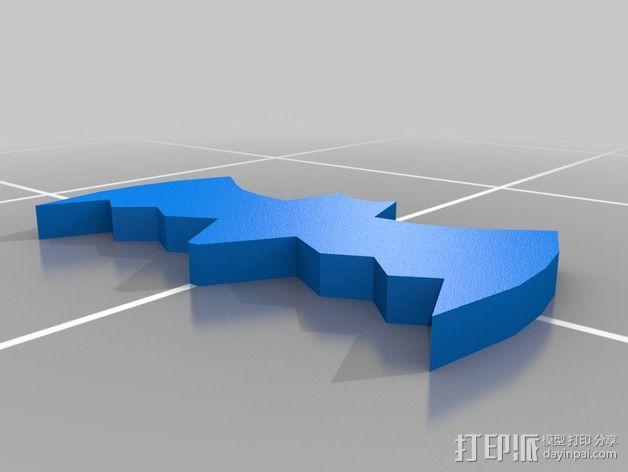 经典蝙蝠车 3D模型  图20