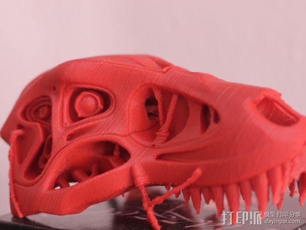 会发光的霸王龙 3D模型  图2