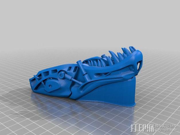 会发光的霸王龙 3D模型  图6