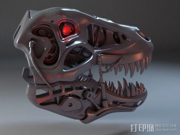 会发光的霸王龙 3D模型  图8