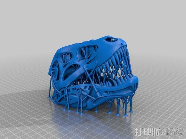 会发光的霸王龙 3D模型  图10