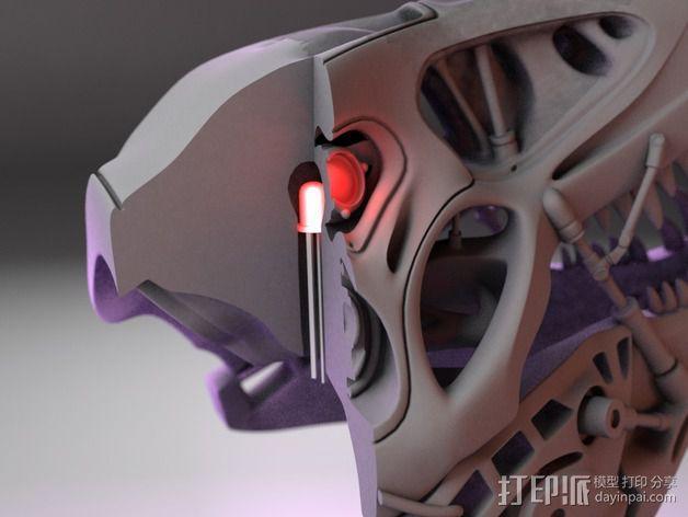 会发光的霸王龙 3D模型  图9