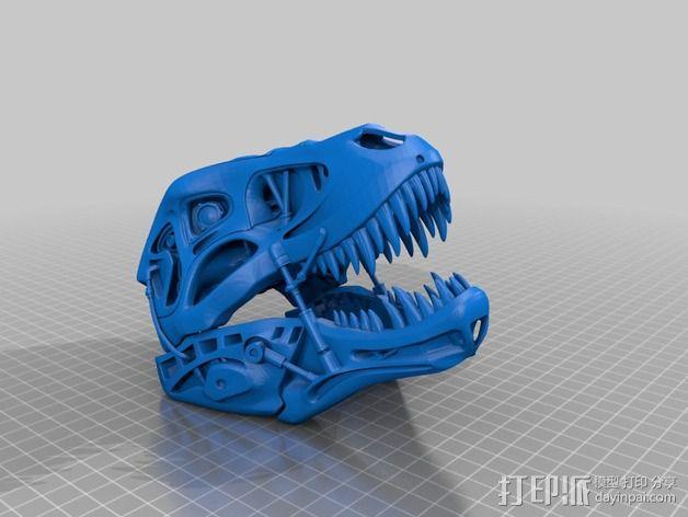 会发光的霸王龙 3D模型  图11