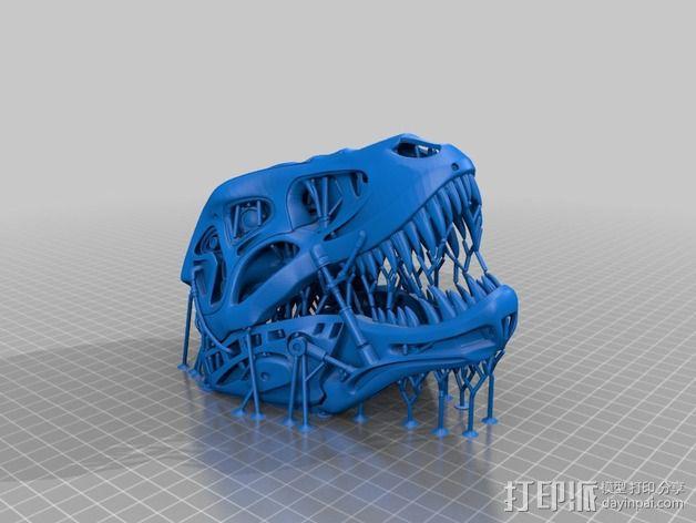 会发光的霸王龙 3D模型  图12