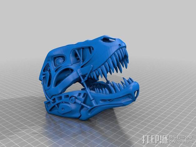 会发光的霸王龙 3D模型  图13
