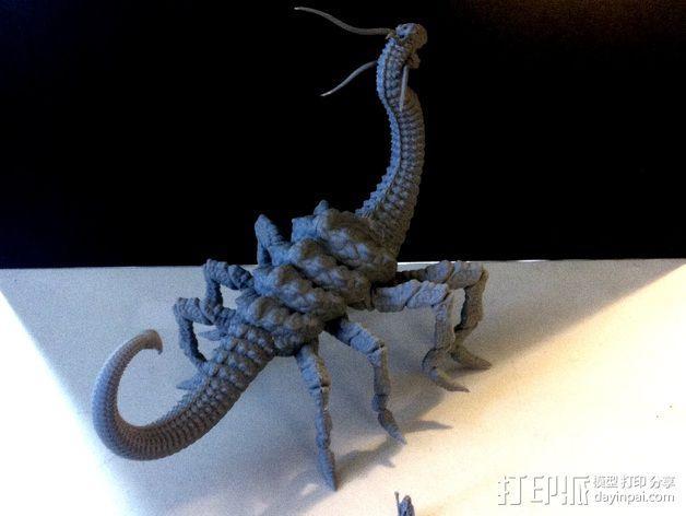 游戏《魔兽世界》 地狱野兽 3D模型  图4