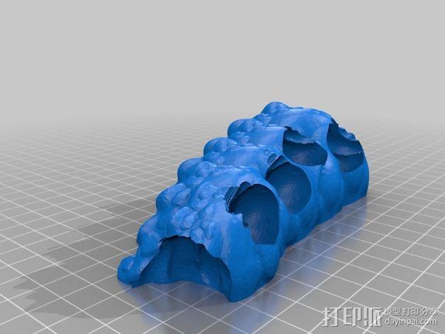 游戏《魔兽世界》 地狱野兽 3D模型  图20