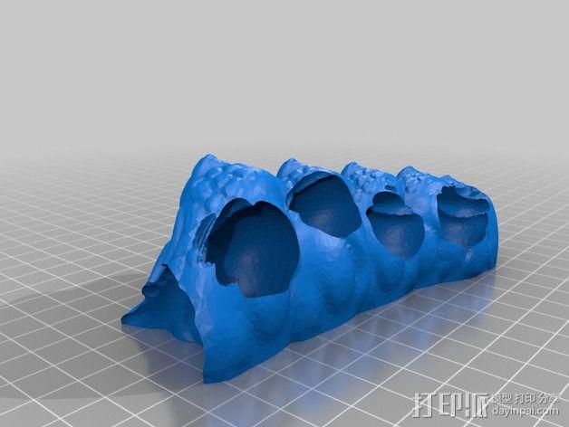 游戏《魔兽世界》 地狱野兽 3D模型  图21