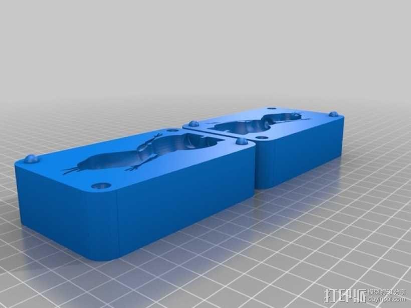 雪宝 模具 3D模型  图2