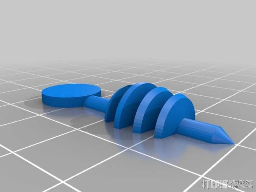 戴立克 3D模型  图13