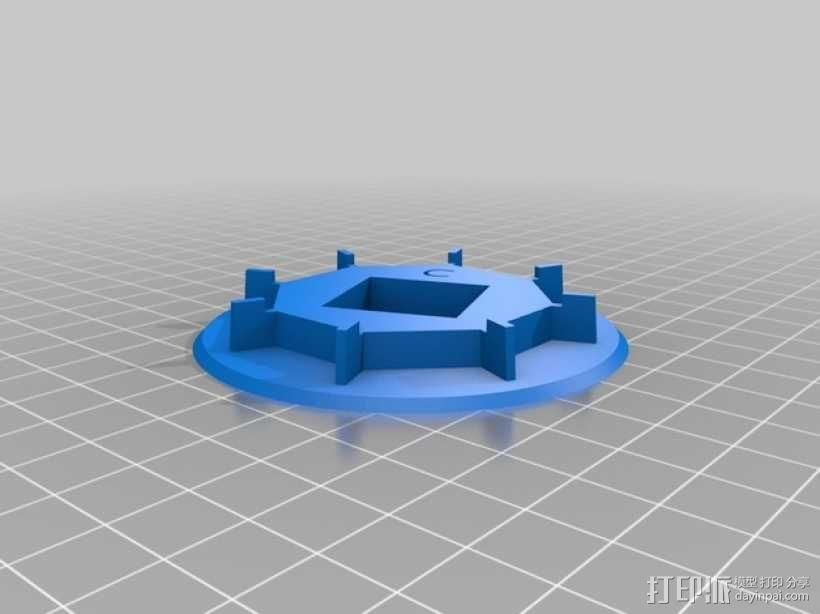 戴立克 3D模型  图14