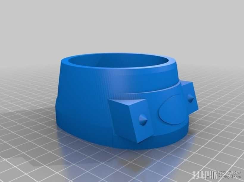 戴立克 3D模型  图20
