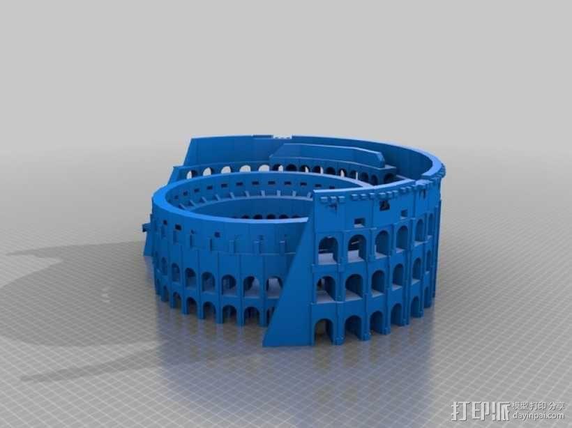 古罗马竞技场  3D模型  图2