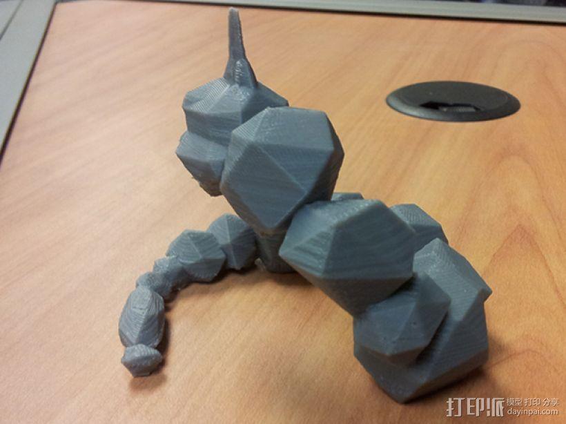 大岩蛇 3D模型  图3