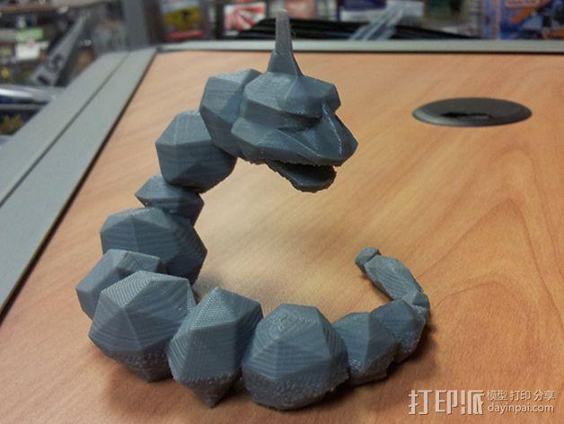 大岩蛇 3D模型  图2