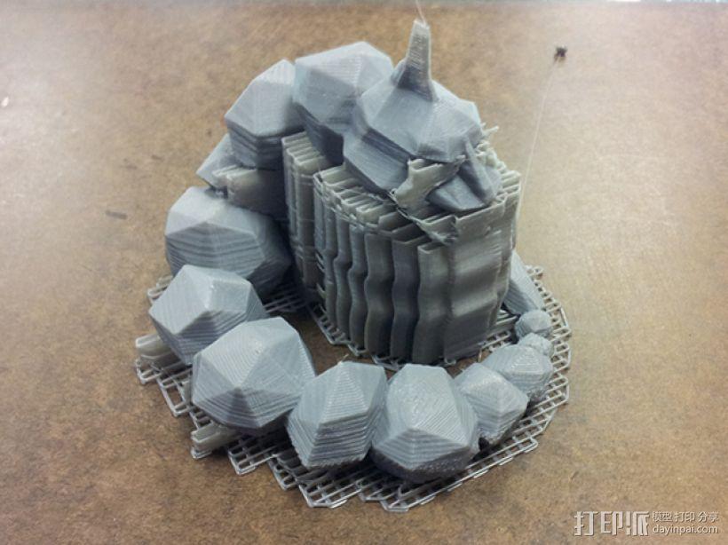 大岩蛇 3D模型  图5