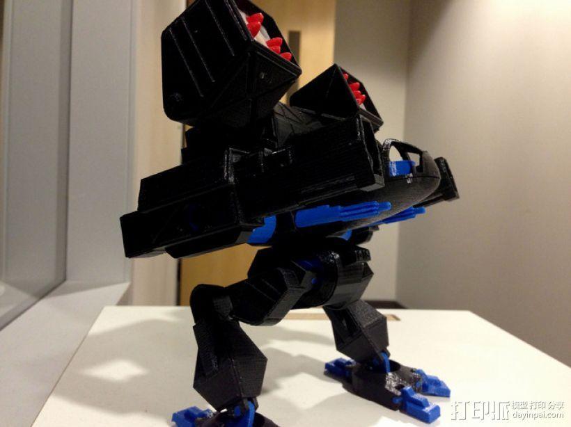 Mad Cat MKII 装甲机器人 3D模型  图2