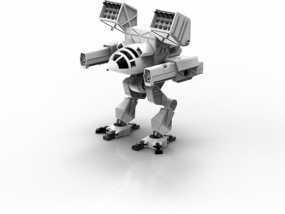 Mad Cat MKII 装甲机器人 3D模型
