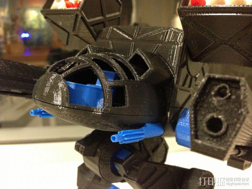 Mad Cat MKII 装甲机器人 3D模型  图5