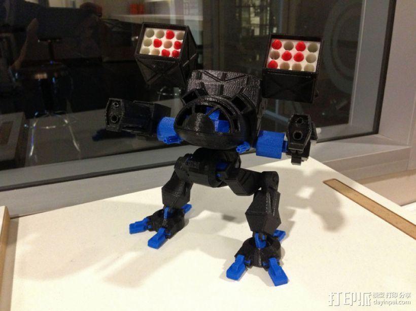 Mad Cat MKII 装甲机器人 3D模型  图3