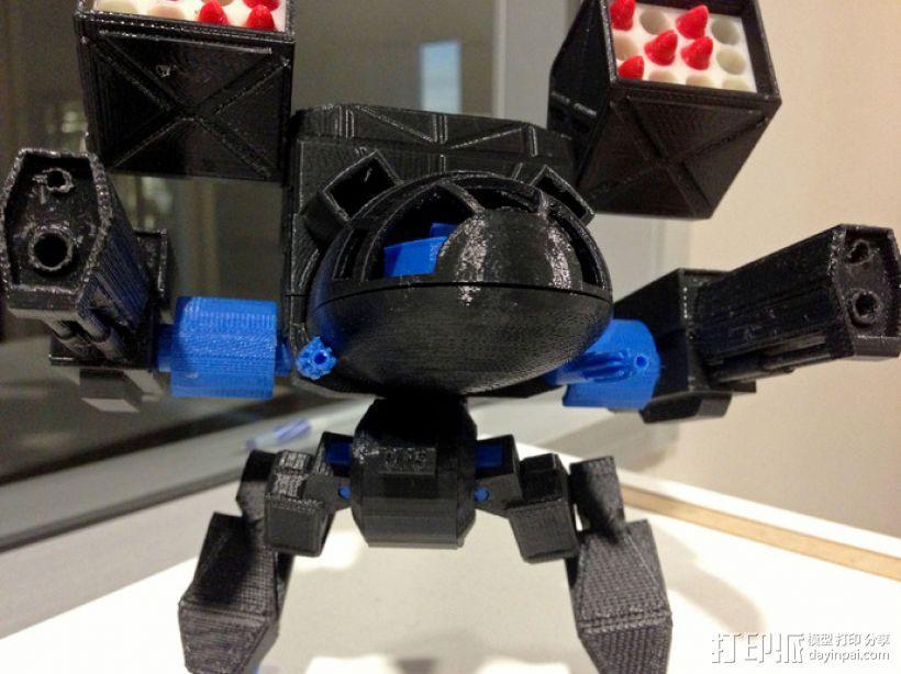 Mad Cat MKII 装甲机器人 3D模型  图6