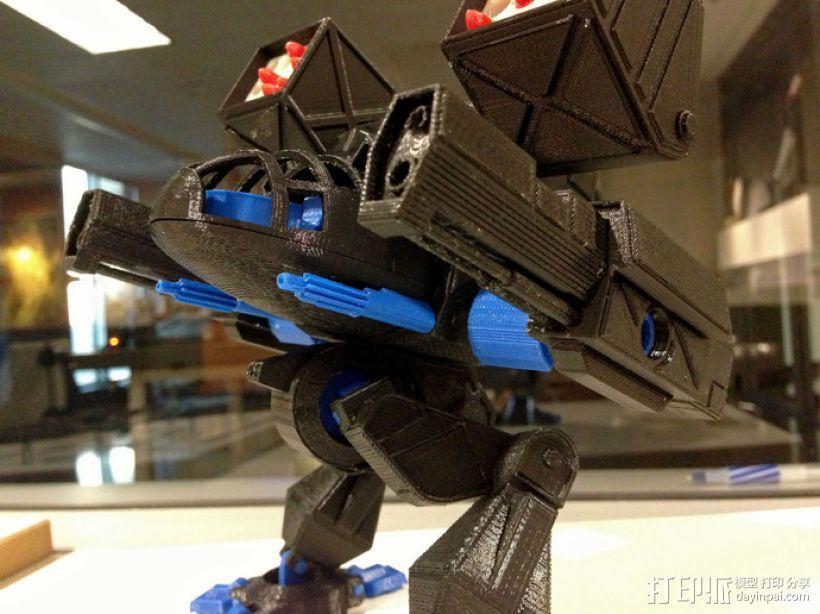 Mad Cat MKII 装甲机器人 3D模型  图4