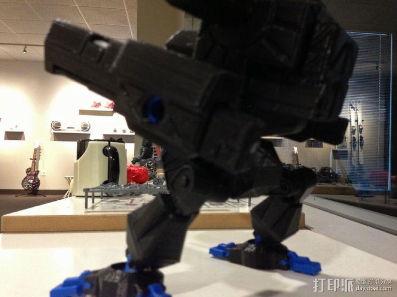Mad Cat MKII 装甲机器人 3D模型  图7
