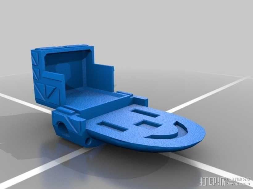 Mad Cat MKII 装甲机器人 3D模型  图11