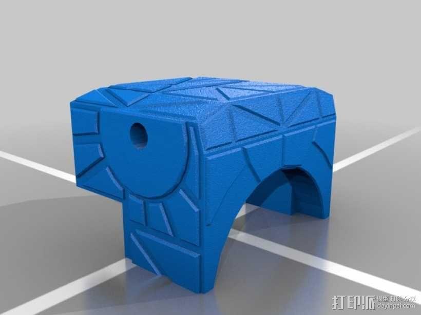 Mad Cat MKII 装甲机器人 3D模型  图10