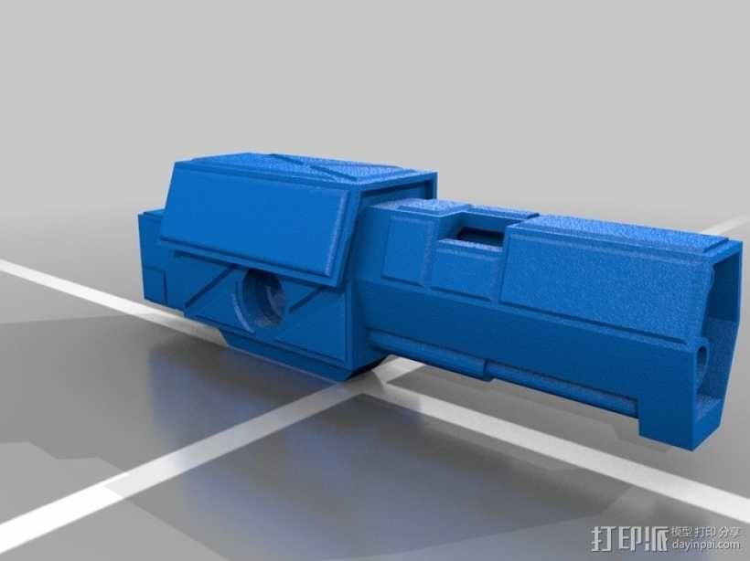 Mad Cat MKII 装甲机器人 3D模型  图14