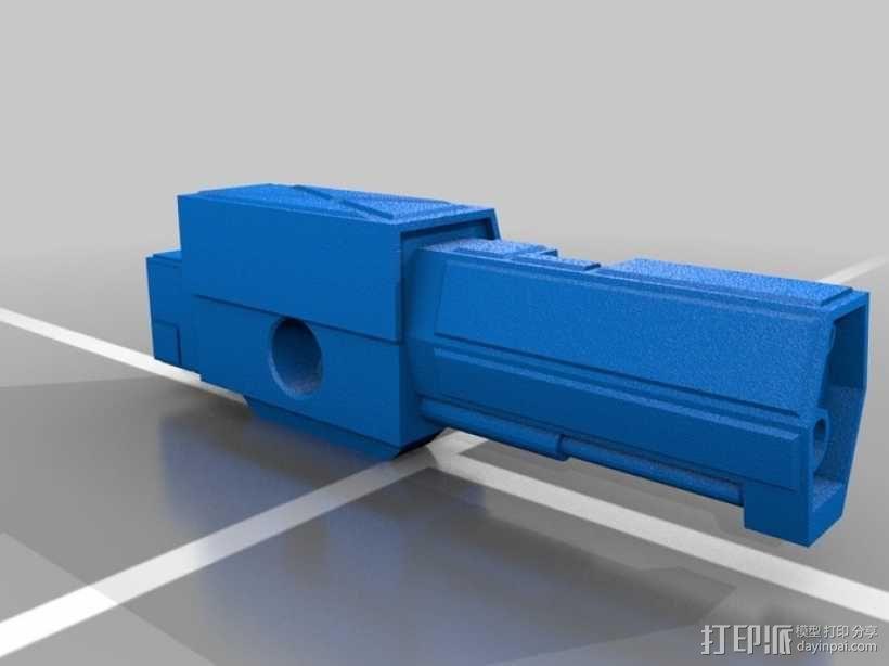 Mad Cat MKII 装甲机器人 3D模型  图15
