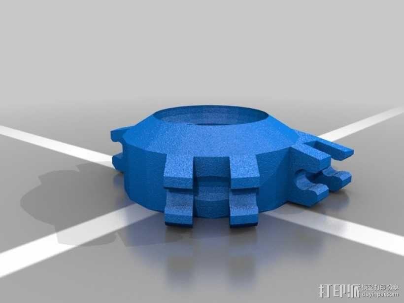 Mad Cat MKII 装甲机器人 3D模型  图20