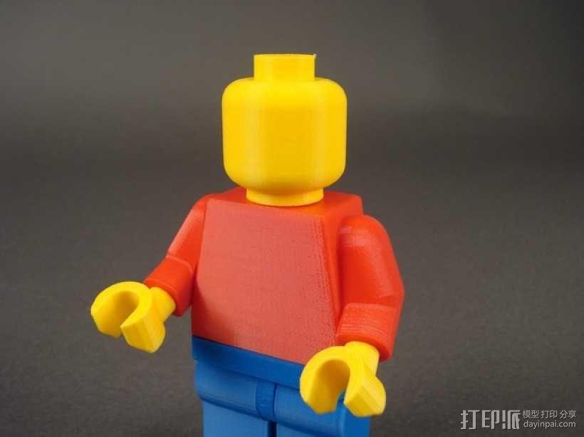 乐高人偶 3D模型  图2