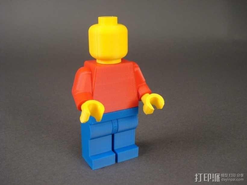 乐高人偶 3D模型  图1