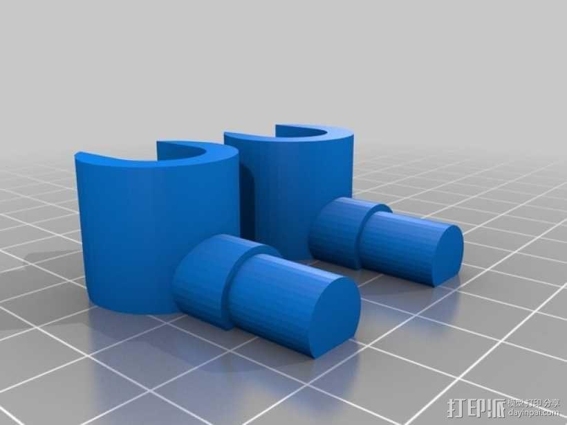 乐高人偶 3D模型  图4