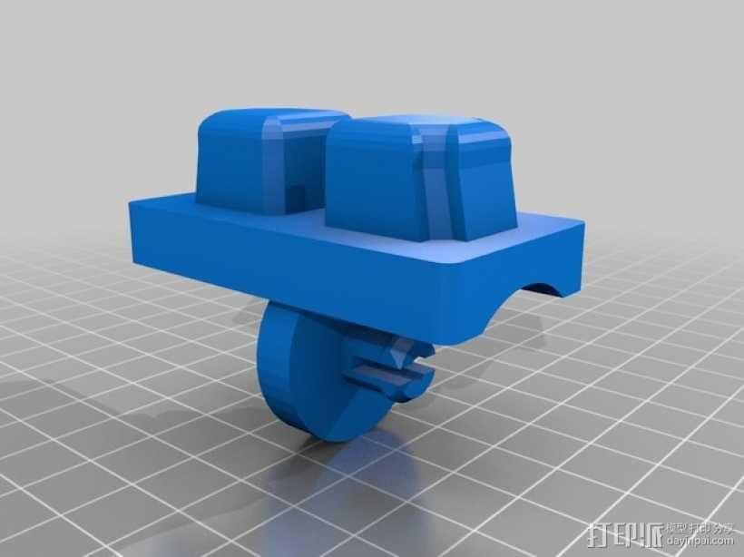 乐高人偶 3D模型  图9