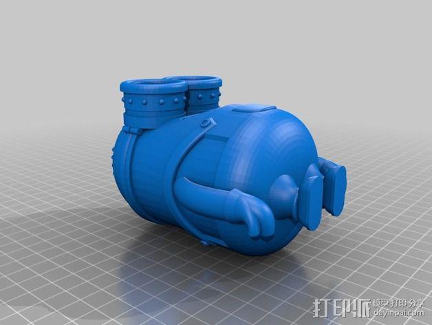小黄人 戴夫 3D模型  图2