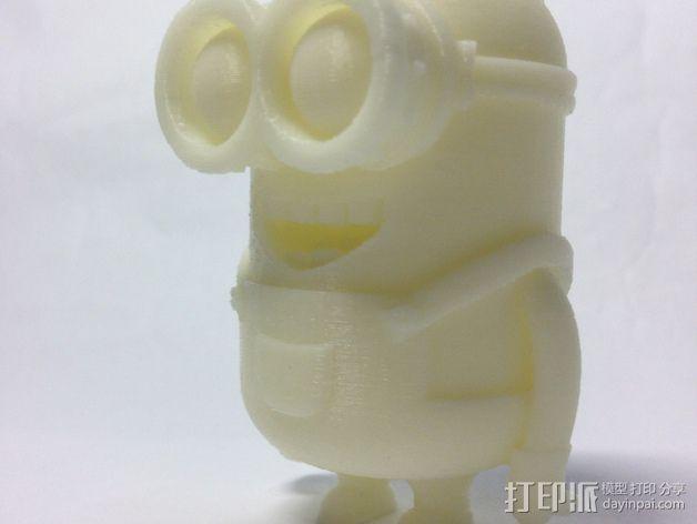 小黄人 戴夫 3D模型  图4