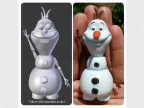 雪宝 Olaf 3D模型