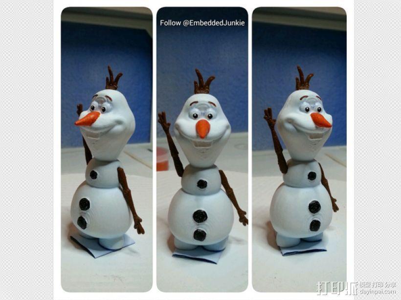 雪宝 Olaf 3D模型  图2