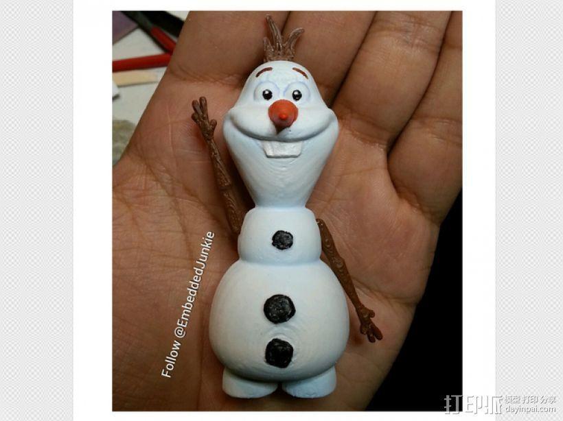 雪宝 Olaf 3D模型  图3