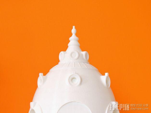 巴黎建筑 圆顶屋 3D模型  图3