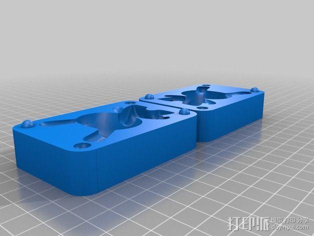 Dunny 玩偶 模具 3D模型  图2