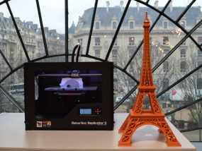 艾菲尔铁塔 3D模型