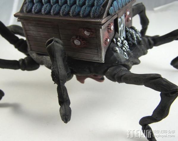 小屋 蜘蛛 3D模型  图7