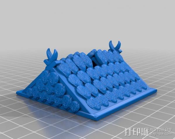 小屋 蜘蛛 3D模型  图10