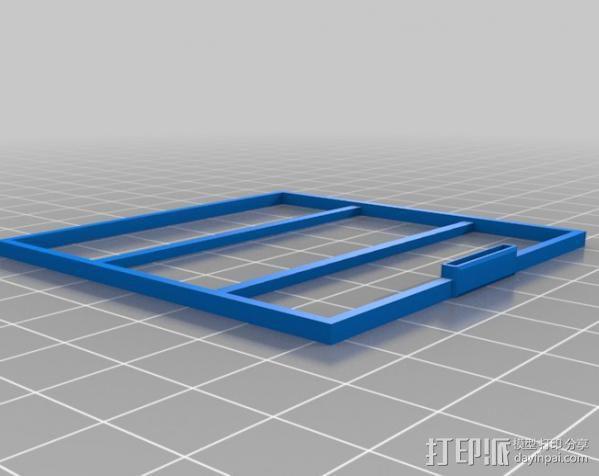 小屋 蜘蛛 3D模型  图11
