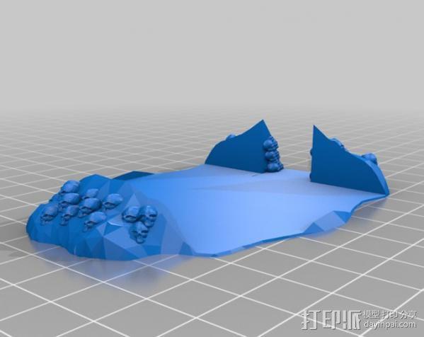 小屋 蜘蛛 3D模型  图14