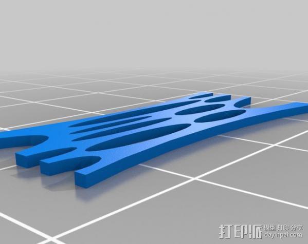 小屋 蜘蛛 3D模型  图12